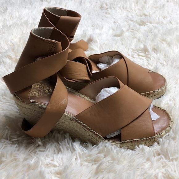 feb6660d6c Vince Camuto Shoes | Leddy Wedge Sandal | Poshmark